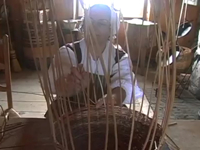 18th Century Acadian Basket Making At Fortress Louisbourg