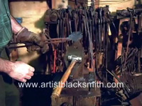 Basic Blacksmithing — Forging A Steel Rose