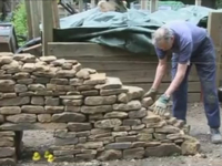 Dry Stone Walling Demonstration At The 2008 Heritage Skills Fair, Gibside