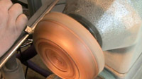 Copper Wire Inlayed English Elm Bowl — Woodturning Tutorial